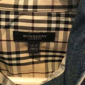 Burberry l/s denim shirt